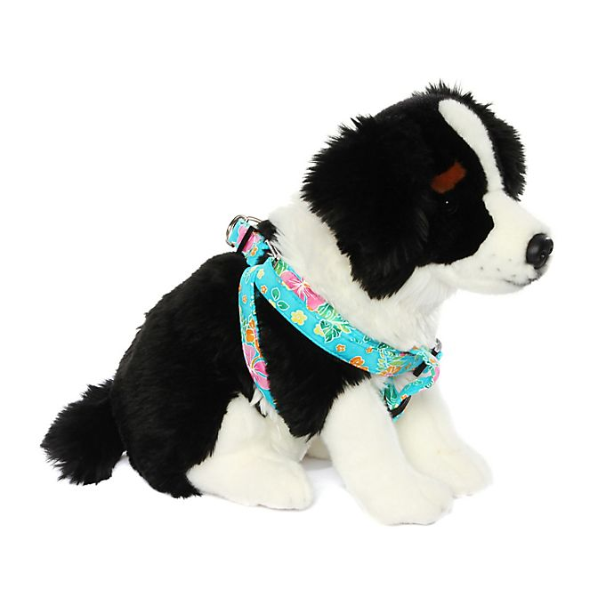 Alternate image 1 for Donna Devlin Designs® Step-in Tropical Punch Small Pet Harness
