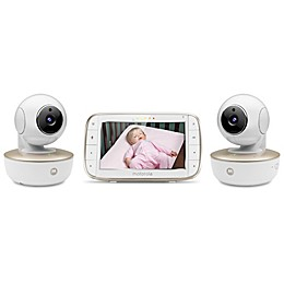Motorola® MBP855CONNECT-2 5-Inch HD Video Baby Monitor with WiFi and Two Cameras