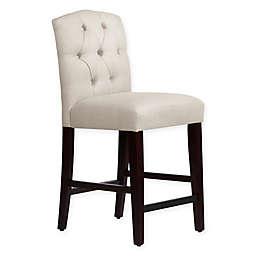 Skyline Furniture Denise Linen Stool