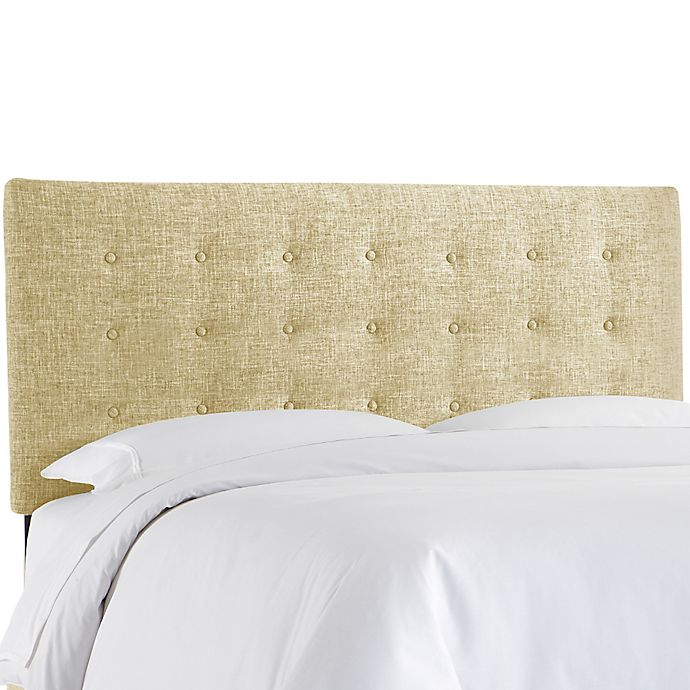 Alternate image 1 for Skyline Furniture Twin Button Bed in Zuma Rawhide