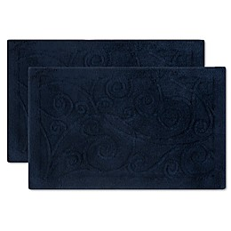 Safavieh Vine Scroll Bath Mats (Set of 2)