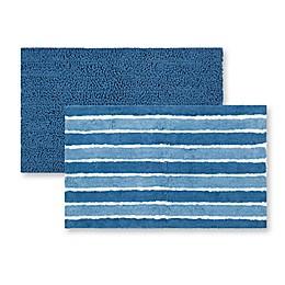Safavieh Riviera Solid-Stripe Bath Mats (Set of 2)