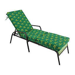 NCAA University of Oregon 3-Piece Chaise Lounge Cushion
