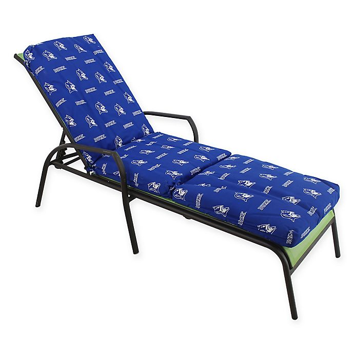 Alternate image 1 for NCAA Duke University 3-Piece Chaise Lounge Cushion