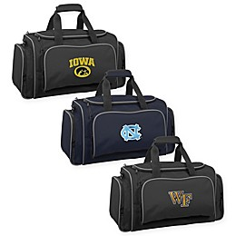 Collegiate 21-Inch Duffel Bag with Pockets Collection