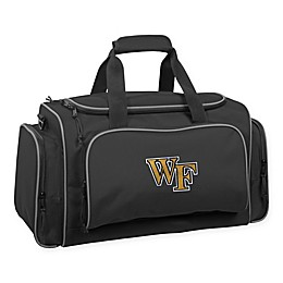 Collegiate Wake Forest Demon Deacons 21-Inch Duffel Bag with Pockets