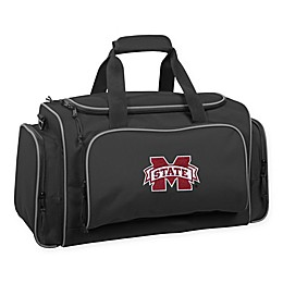 Collegiate Mississippi University Bull Dogs 21-Inch Duffel Bag with Pockets