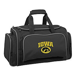 Collegiate University of Iowa Hawkeyes 21-Inch Duffel Bag with Pockets