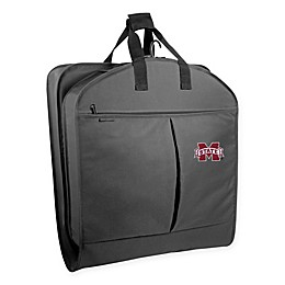 Collegiate Mississippi University Bulldogs 40-Inch Suit-Length Garment Bag with Pockets