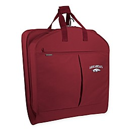 Collegiate Arkansas Razorbacks 40-Inch Suit-Length Garment Bag with Pockets