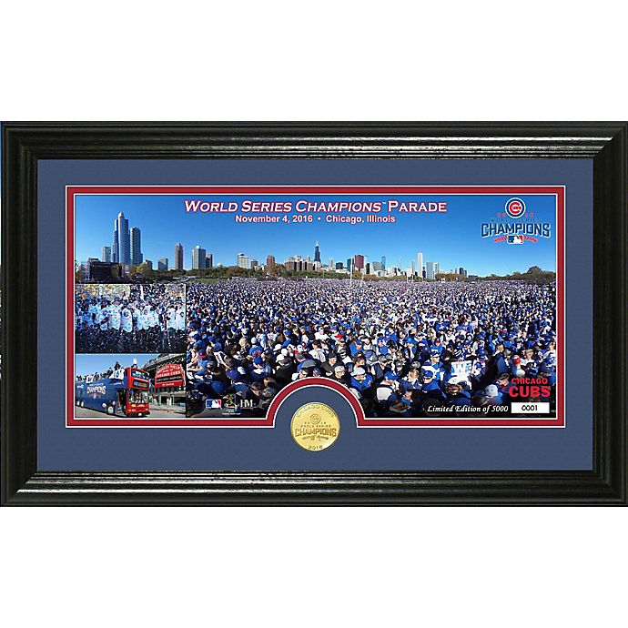 MLB Chicago Cubs 2016 World Series Champions Parade Photo Mint  036ecf447