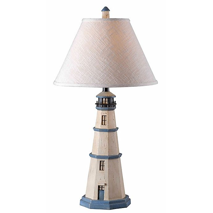 Alternate image 1 for Kenroy Home Nantucket Table Lamp in Antique White
