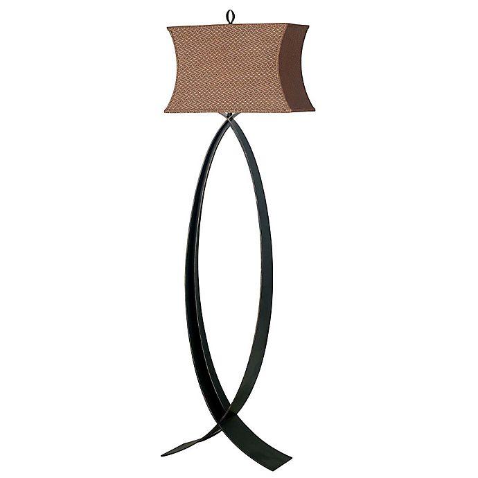 Alternate image 1 for Kenroy Home Pisces Floor Lamp in Oxidized Bronze