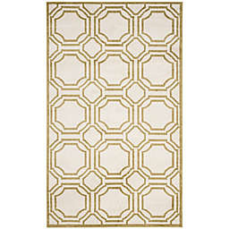 Safavieh Amherst 4-Foot x 6-Foot Ferry Area Rug in Ivory
