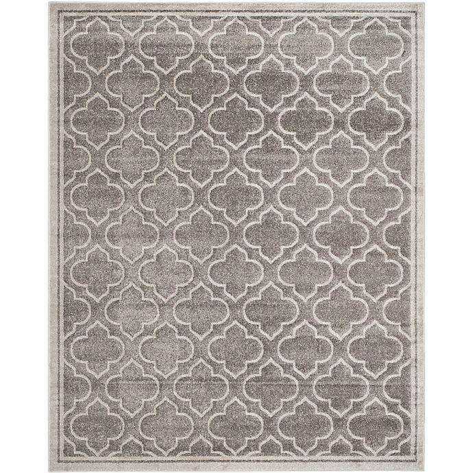 Alternate image 1 for Safavieh Amherst 8-Foot x 10-Foot Clove Indoor/Outdoor Area Rug in Grey/Light Grey