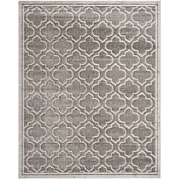 Safavieh Amherst 8-Foot x 10-Foot Clove Indoor/Outdoor Area Rug in Grey/Light Grey