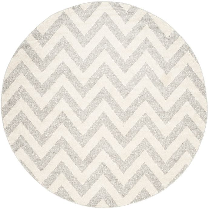 Alternate image 1 for Safavieh Amherst 7-Foot x 7-Foot Chevy Area Rug in Light Grey