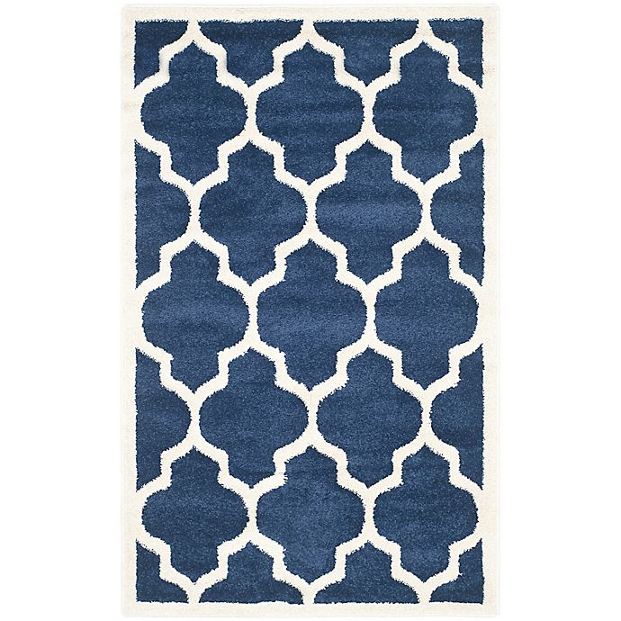 Alternate image 1 for Safavieh Amherst 3-Foot x 5-Foot Whirl Area Rug in Navy