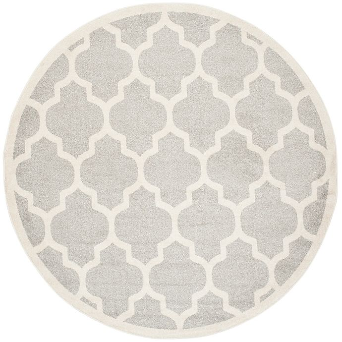 Alternate image 1 for Safavieh Amherst 7-Foot x 7-Foot Whirl Area Rug in Light Grey