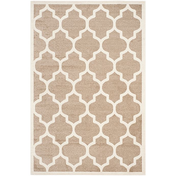 Alternate image 1 for Safavieh Amherst 6-Foot x 9-Foot Whirl Area Rug in Wheat