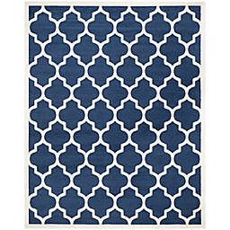 Safavieh Amherst 8-Foot x 10-Foot Whirl Area Rug in Navy