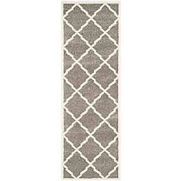 Safavieh Amherst 2-Foot 3-Inch x 7-Foot Festival Area Rug in Dark Grey