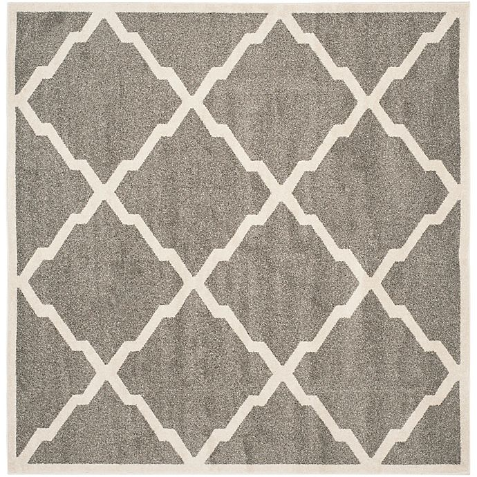 Alternate image 1 for Safavieh Amherst 7-Foot x 7-Foot Festival Area Rug in Dark Grey