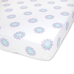 Wendy Bellissimo™ Anya Medallion Fitted Crib Sheet