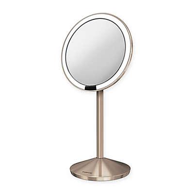 simplehuman® 5-inch Sensor Mirror in Rose Gold