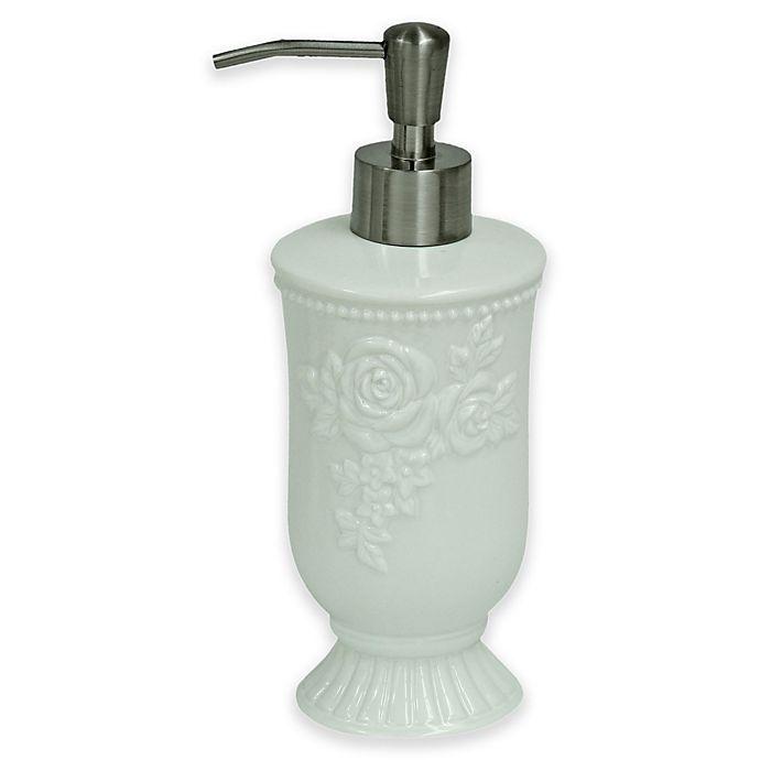 Alternate image 1 for Jessica Simpson Ellie Lotion Dispenser in White
