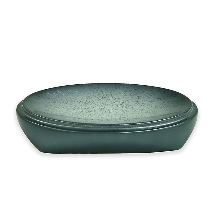 Alternate image 1 for Bacova Landon Soap Dish in Blue