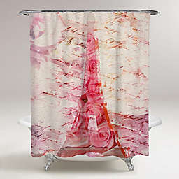 Oliver Gal Artist Co. Love Letters Shower Curtain
