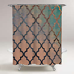 Oliver Gal Artist Co. Amour Arabesque Shower Curtain