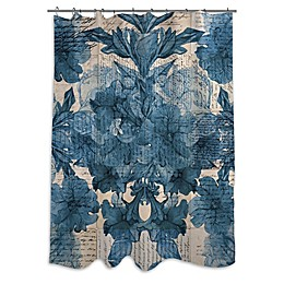 Oliver Gal Artist Co. Lost Love Letters Shower Curtain