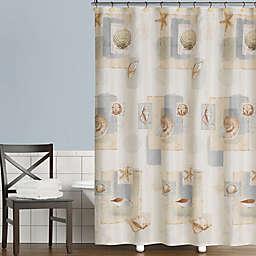 Saturday Knight Bayside 70-Inch x 72-Inch Shower Curtain