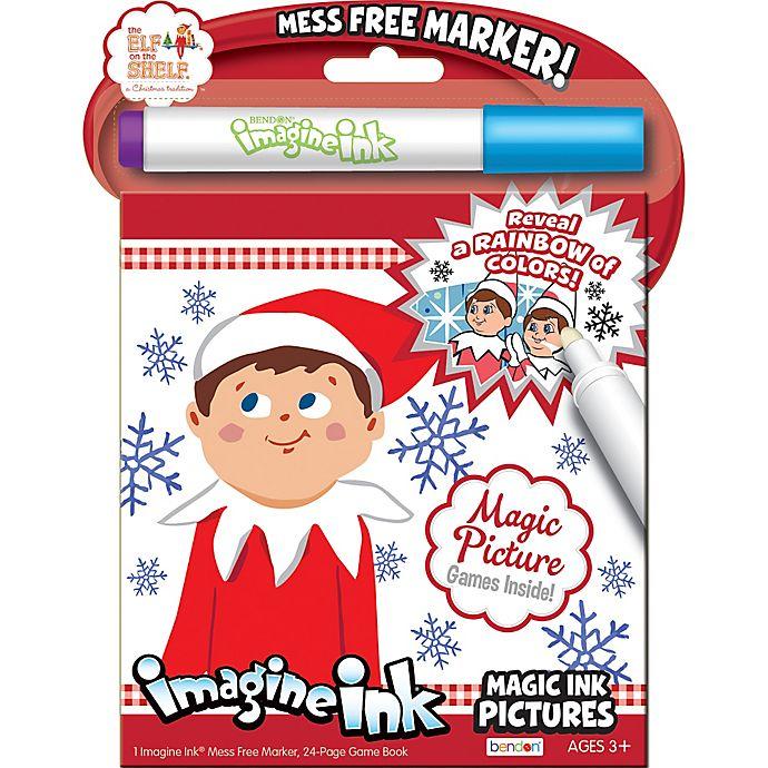Elf On The Shelf Imagine Ink Activity Book