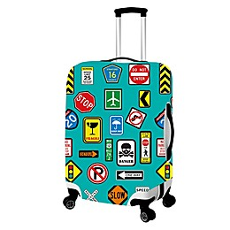 Sign Luggage Cover