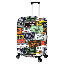License Plate Luggage Cover