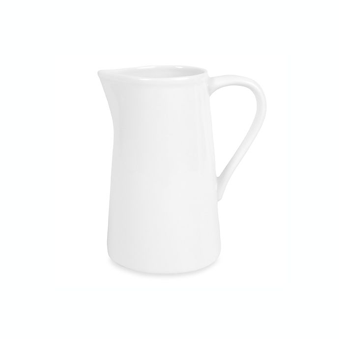 Alternate image 1 for Everyday White® by Fitz and Floyd® 16 oz. Pitcher