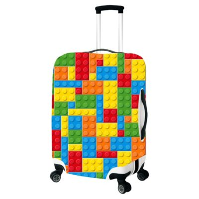 Building Bricks Luggage Cover Bed Bath Amp Beyond