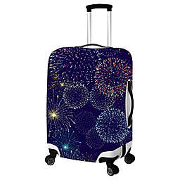 Fireworks Luggage Cover