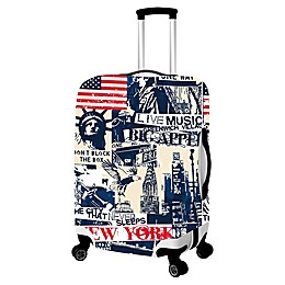 New York Luggage Cover