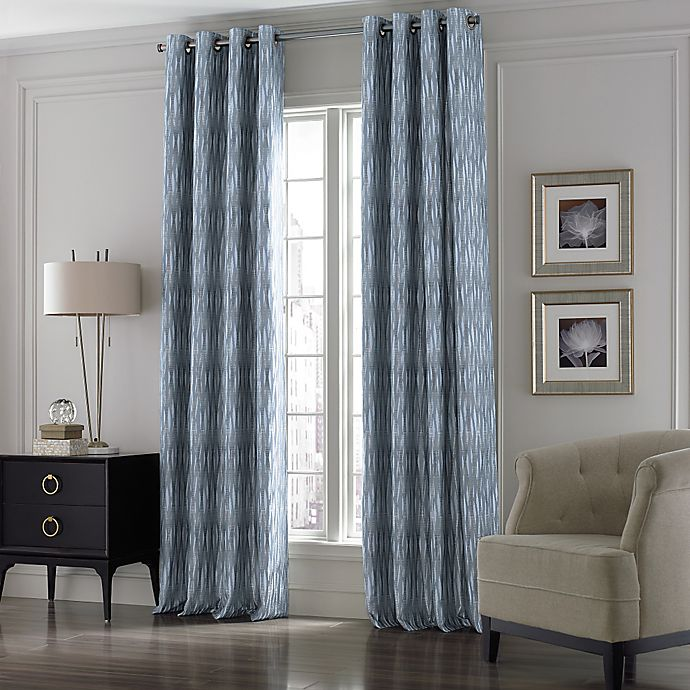 Alternate image 1 for Valeron Lustre Grommet Top Window Curtain Panel