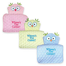 "Silly Phillie® Creations Owl Character ""Whooo's the Cutest?"" Changing Pad"