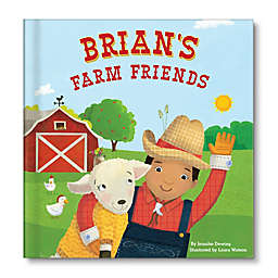 "Personalized Children's Board Book: ""My Farm Friends"" by Jennifer Dewing"