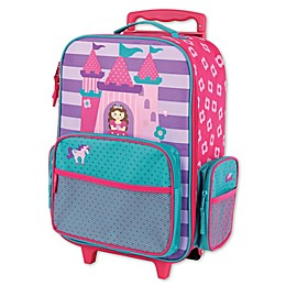 Stephen Joseph® Princess Rolling Luggage in Purple