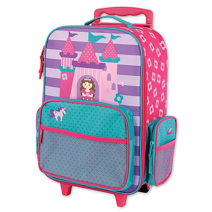 Alternate image 1 for Stephen Joseph® Princess Rolling Luggage in Purple