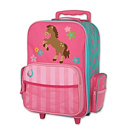 Stephen Joseph® Horse Rolling Luggage in Pink