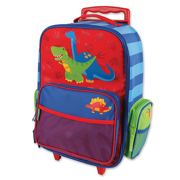 Alternate image 1 for Stephen Joseph® Dino Rolling Luggage in Blue