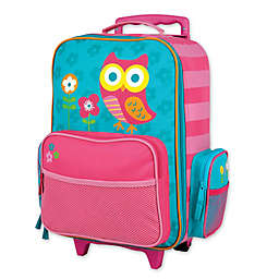 Stephen Joseph® Owl Rolling Luggage in Pink